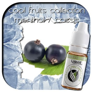 valeo e-liquid - Aroma: Cool Fruits Collection - Cassis/Menthol light 10ml