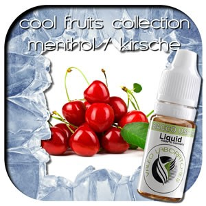 valeo e-liquid - Aroma: Cool Fruits Collection - Kirsche/Menthol ohne 10ml