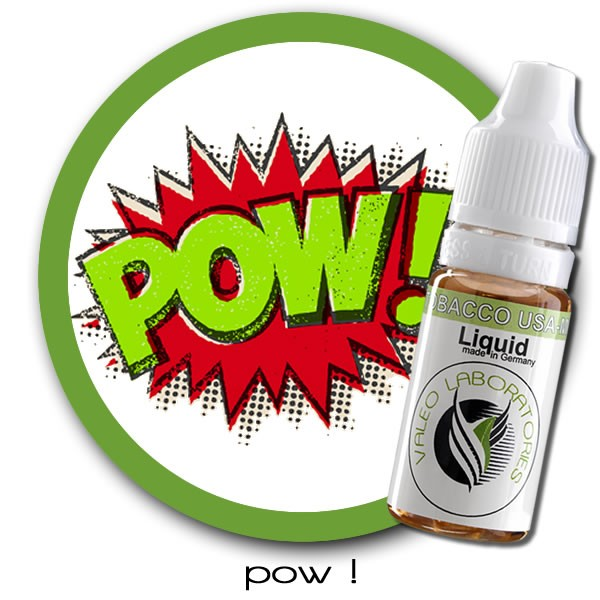 valeo e-liquid - US Collection - POW ! - light 10ml