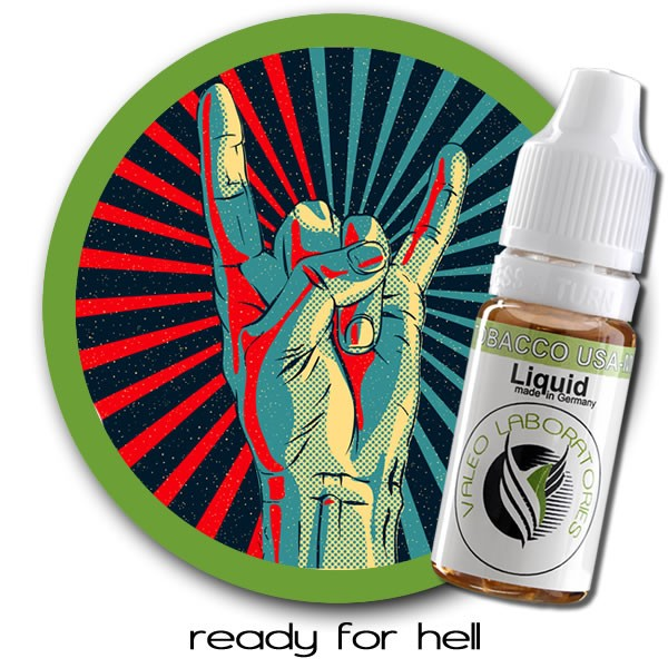valeo e-liquid - US Collection - Ready for hell - ohne 10ml