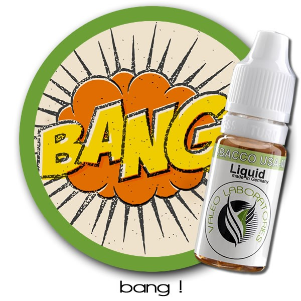 valeo e-liquid - US Collection - Bang ! - medium 10ml