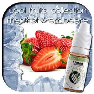 valeo e-liquid - Aroma: Cool Fruits Collection - Erdbeere/Menthol medium 10ml