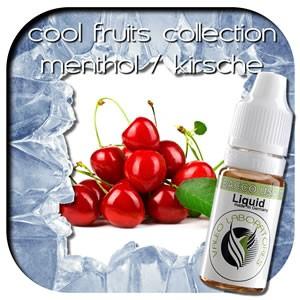 valeo e-liquid - Aroma: Cool Fruits Collection - Kirsche/Menthol light 10ml