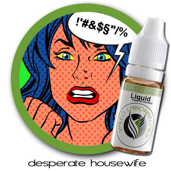 valeo e-liquid - US Collection - Desperate Housewife - strong 10ml