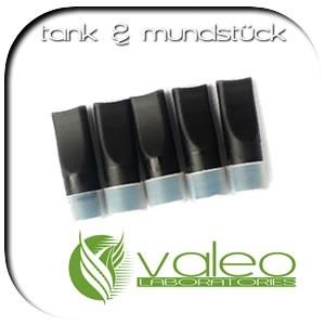 valeo-one e-Zigarette - Zubehör . Ersatzdepots Mundstücke Tanks Typ-B