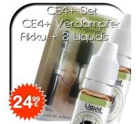 valeo CE4+ Doppelverdampfer Set + 2 Liquids gratis