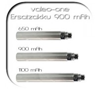 valeo-one e-Zigarette - Zubehör . Akku 900 mAh titan