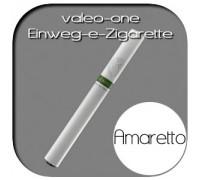 Valeo-One DIE Einweg-e-Zigarette aus Deutschland | Nikotin - Ohne | Amaretto