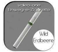 Valeo-One DIE Einweg-e-Zigarette aus Deutschland | Nikotin - Ohne | Walderdbeere