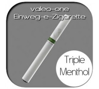 Valeo-One DIE Einweg-e-Zigarette aus Deutschland | Nikotin - Strong | Triple-Menthol