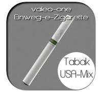 Valeo-One DIE Einweg-e-Zigarette aus Deutschland | Nikotin - Strong | Tabakaroma USA Mix