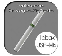 Valeo-One DIE Einweg-e-Zigarette aus Deutschland | Nikotin - Ohne | Tabakaroma USA Mix